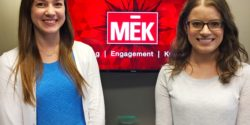 New senior marketing interns at MEK Group