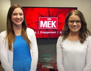 New senior marketing interns at MEK Group