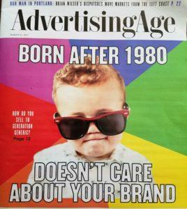 Boomers, millennials, brand, brand development